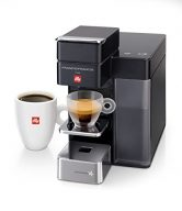 Francis Francis for Illy 60068 Y5 Duo Espresso & Coffee Machine, Black