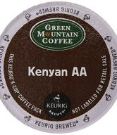Green Mountain Coffee Kenyan AA, K-Cup for Keurig Brewers