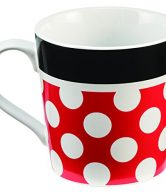 Vandor 89061 Disney Minnie Mouse Ceramic Mug, 12 oz, Multicolor