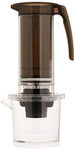 Cafejo MFP011KBRZI My French Press Capsule Single Cup Brewer with Keurig K-Cups Adaptor