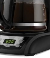 Black & Decker DLX1050B 12-Cup Programmable Coffeemaker with Glass Carafe, Black
