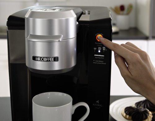 Mr Coffee Single Serve Coffee Brewer Bvmc Kg6 001 40 Ounce Black