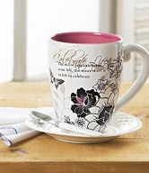Mark My Words 40th Birthday Mug, 4-3/4-Inch, 20-Ounce Capacity