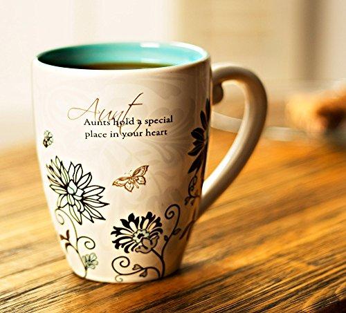 Pavilion Mark My Words Aunt Mug, 20-Ounce, 4-3/4-Inch