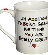 Our Name Is Mud by Lorrie Veasey Cuppa Doodle Grandmother Mug, 4-1/2-Inch