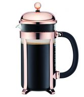 Bodum 8 Cup Chambord Classic Coffee Maker, 34 oz, Copper