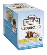 Grove Square Cappuccino, Single Serve Cup for Keurig K-Cup Brewers