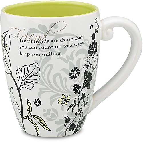 Mark My Words Friends Mug, 4-3/4 Inch, 20-Ounce Capacity