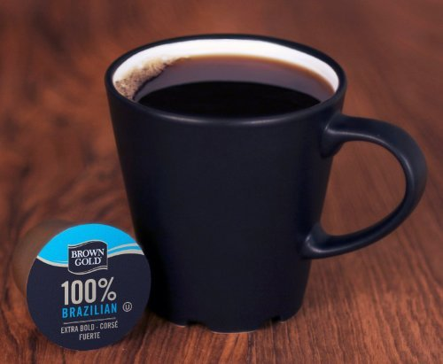 Brown Gold 100% Coffee Capsules for Keurig K-Cup Brewers