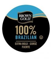 Brown Gold 100% Coffee Capsules for Keurig K-Cup Brewers