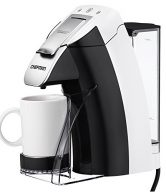 Chefman, My Barista Single Serve Coffee Maker, White