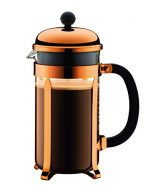 Bodum 8 Cup 1928-18 Chambord Classic Coffee Maker, 34 oz, Copper