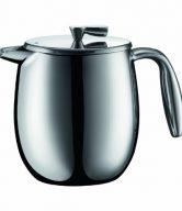 Bodum Columbia Four 6 Oz Cups Stainless Steel Thermal Vacuum Coffee Press, 0.5 l, 17-Ounce